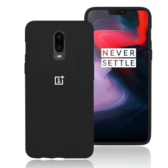TDG Oneplus 7 Silicone Protective Back Cover Case Black - YourDeal India