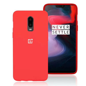 TDG Oneplus 7 Back Cover Silicone Protective Case Red  Oneplus 7 Silicone Cases - YourDeal India