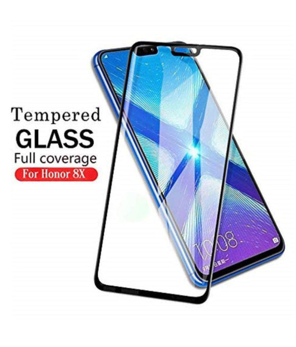 TDG 11D Full Cover Tempered Glass for Huawei Honor 8X Black  11D Tempered Glass - YourDeal India