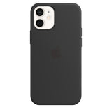TDG Apple iPhone 12 Mini Silicone Case Cover - BLACK - Yourdeal india