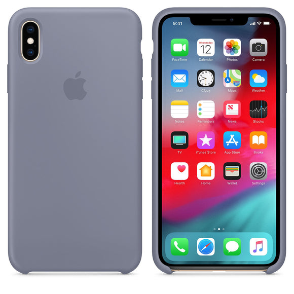 TDG OG SIlicone Case for Apple iPhone XS Max Lavender Gray - YourDeal India