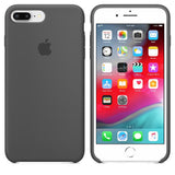 TDG OG SIlicone Case for Apple iPhone 7 Plus & iPhone 8 Plus Grey Apple OG Silicon Back Case - YourDeal India