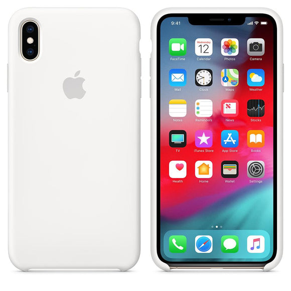TDG iPhone XS Max SIlicone Case OG White - YourDeal India