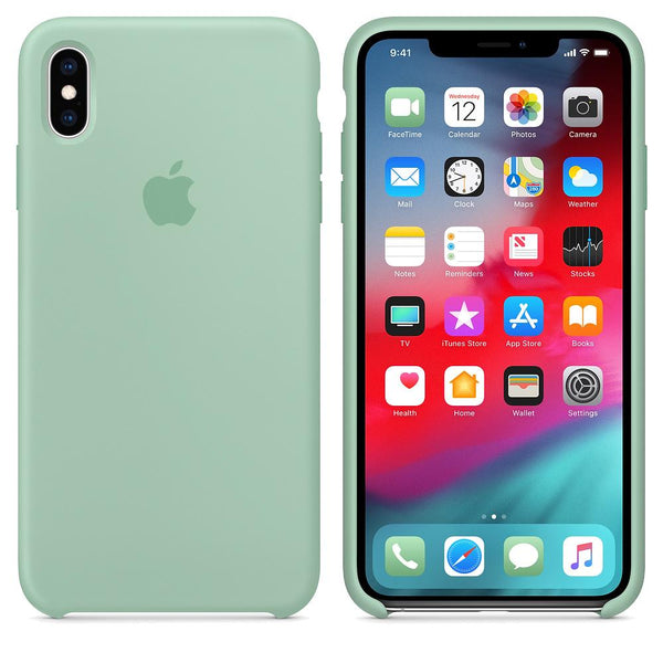 Silicone Case for Apple iPhone X XS - Green
