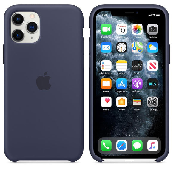 TDG iPhone 11 Pro Max Silicone Case Midnight Blue - YourDeal India
