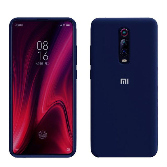 TDG Redmi K20 / K20 Pro OG Silicone Case Dark Blue - YourDeal India