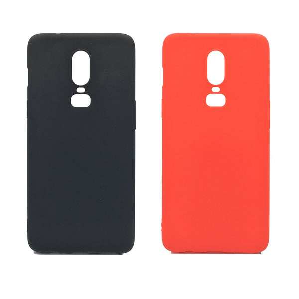 OnePlus 6T Silicone Protective Back Case
