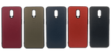 OnePlus 6T Leather Hard Back Soft Side Protective Case Red | YourDeal India