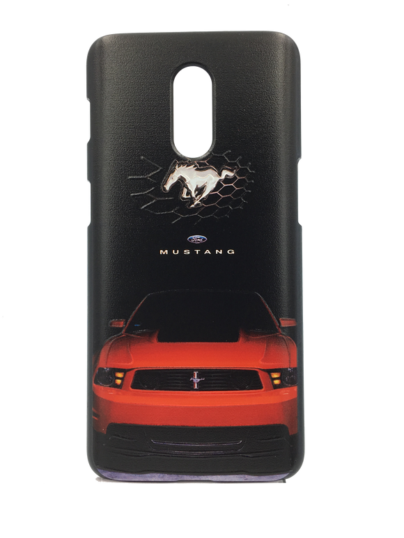 TDG OnePlus 6T 3D Texture Printed Luxury Car Mustang Hard Back Case Cover - YourDeal India