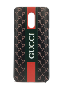TDG OnePlus 6T 3D Texture Printed Designer Gucci Hard Back Case Cover - YourDeal India