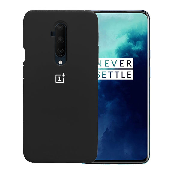 TDG Oneplus 7T Pro Back Cover Silicone Protective Case Black - YourDeal India
