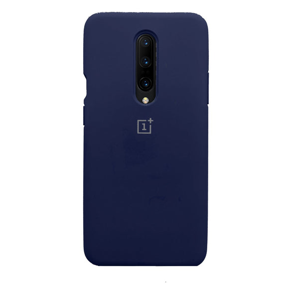 TDG OnePlus 7 Pro OG Silicone Protective Back Case Navy Blue - YourDeal India