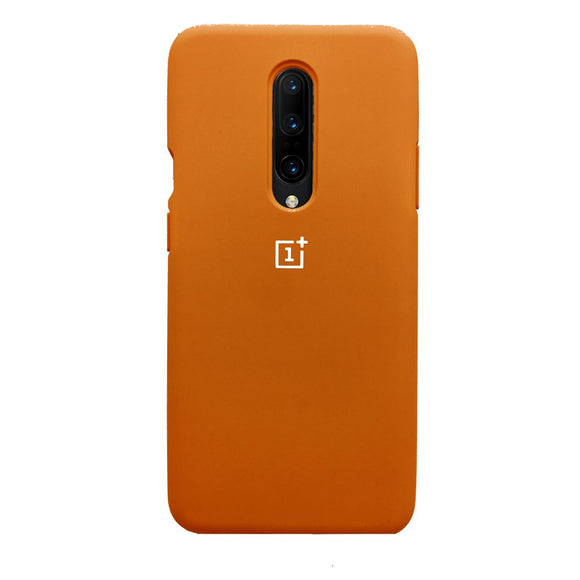 TDG Oneplus 7 Pro OG Silicone Protective Back Case Orange - YourDeal India