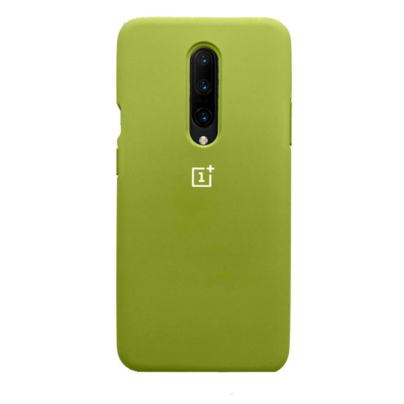 TDG Oneplus 7 Pro OG Silicone Protective Back Case Green - YourDeal India