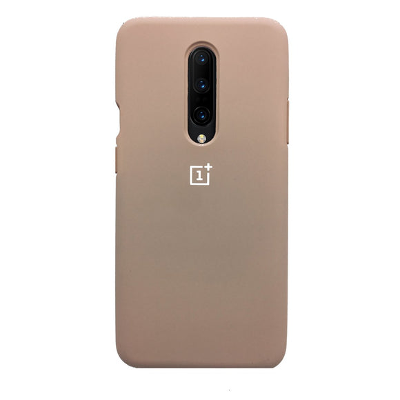 TDG Oneplus 7 Pro OG Silicone Protective Back Case Pink Sand - YourDeal India