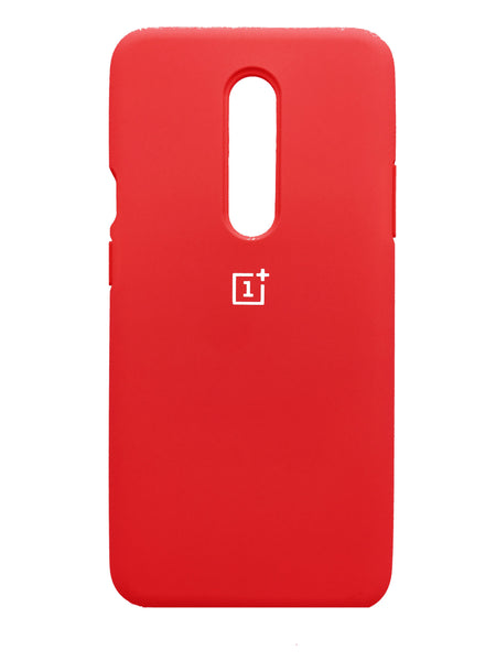 TDG OnePlus 8 OG Silicone Protective Back Case Red - Full Cover
