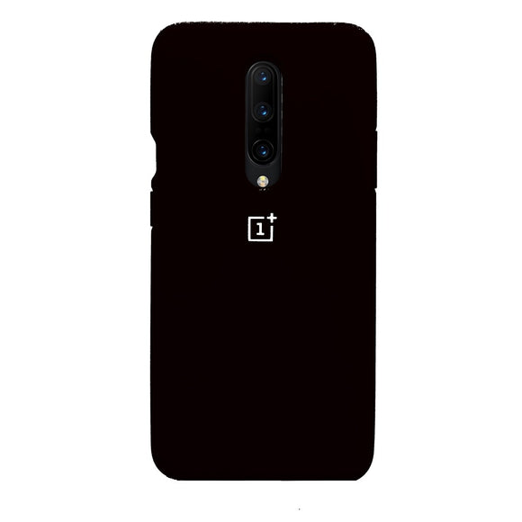 TDG Oneplus 7 Pro OG Silicone Protective Back Case Black - YourDeal India