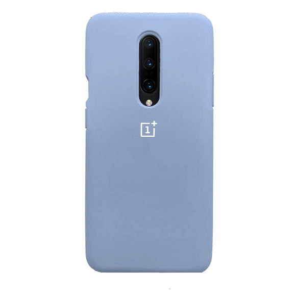 TDG Oneplus 7 Pro Back Cover Silicone Protective Case Sky Blue - YourDeal India