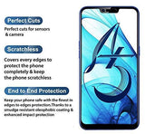 TDG 11D Full Cover Tempered Glass for Oppo A5 Black - YourDeal India