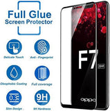 TDG 11D Full Cover Tempered Glass for Oppo F7 Black  11D Tempered Glass - YourDeal India