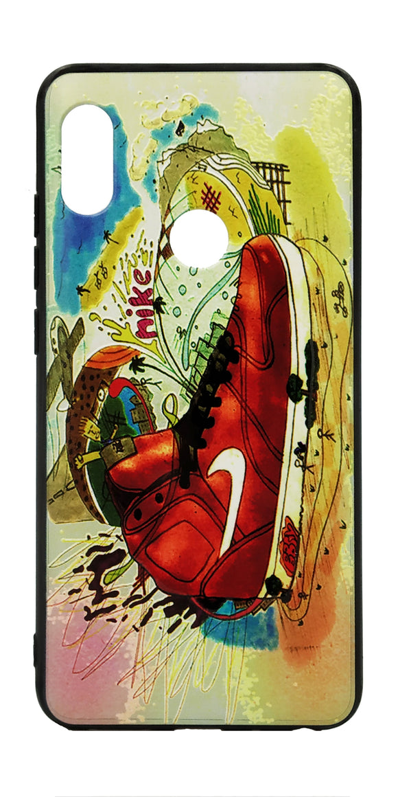 TDG Xiaomi Redmi Note 5 Pro 3D Texture Printed Nike Brand Hard Back Case Cover | YourDeal India