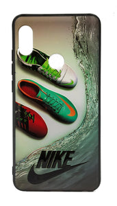 TDG Xiaomi Redmi Note 5 Pro 3D Texture Printed Nike Sports Brand Hard Back Case Cover - YourDeal India