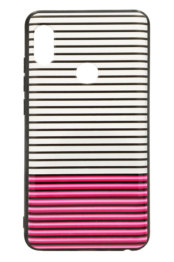 TDG Xiaomi Redmi Note 5 Pro 3D Texture Printed Stripes Hard Back Case Cover - YourDeal India