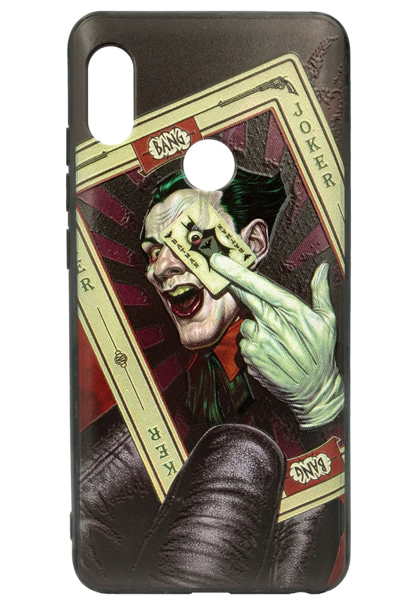 TDG Xiaomi Redmi Note 5 Pro 3D Texture Printed Batman Joker Hard Back Case Cover - YourDeal India