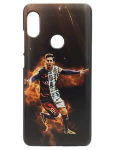 Xiaomi Redmi Note 5 Pro Printed Back Case Cover Messi Barcelona - YourDeal India