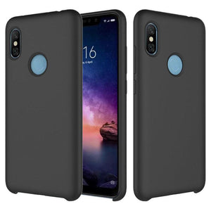 TDG Redmi Note 5 Pro Soft Silicone Protective Back Case Black - YourDeal India