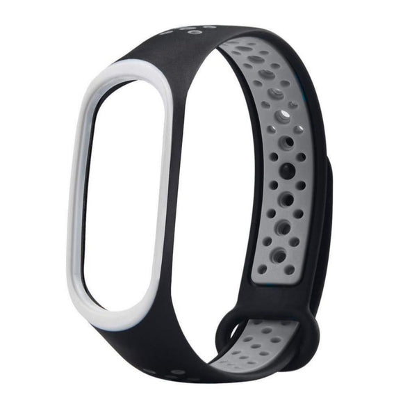 Mi Band 3 Fitness Smart Band Nike Sports Watch Straps Belt Black Grey - YourDeal India