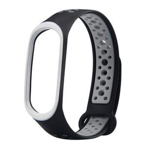 Mi Band 4 Fitness Smart Band Nike Sports Watch Straps Belt Black Grey - YourDeal India