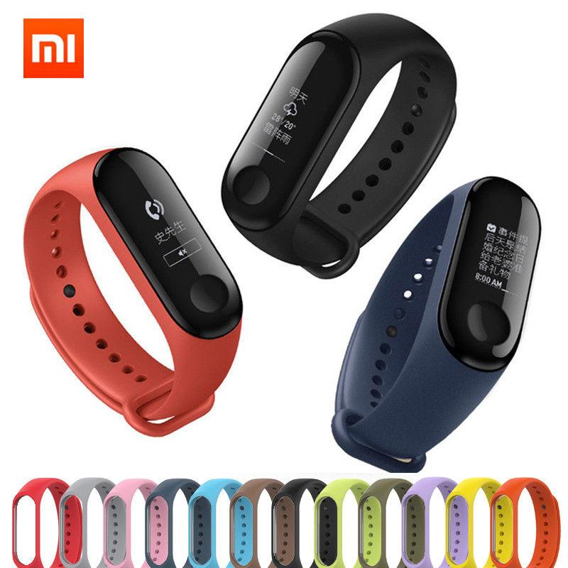 Replacement Strap with buckle for Xiaomi Mi Band 3 Smart Band Fitness Tracker Watch