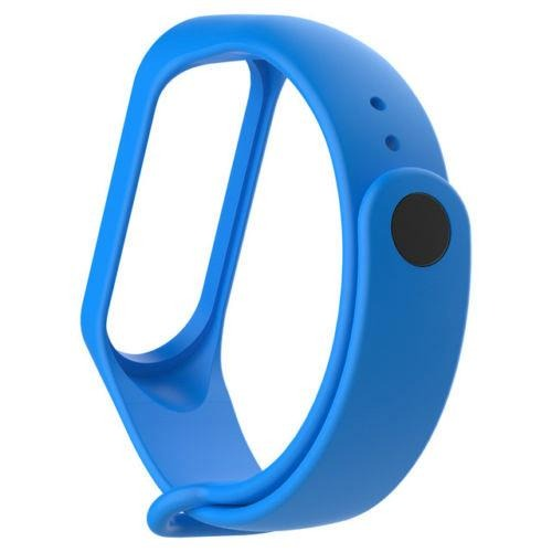Mi Band 3 Fitness Smart Band Watch Straps Silicone Belt Sky Blue - YourDeal India