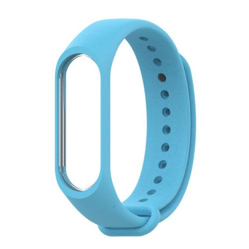 Sea Blue Watch Strap for Xiaomi Mi Band 3 Smart Band Fitness Tracker