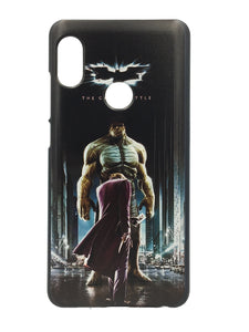 Xiaomi Redmi Note 5 Pro 3D UV Printed Justice League Batman Hulk Hard Back Case Cover - YourDeal India