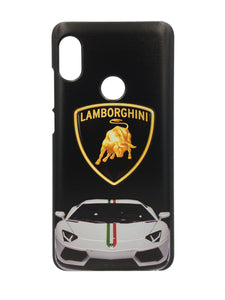 TDG Xiaomi Redmi Note 5 Pro 3D Texture Printed Luxury Car Lamborghini Hard Back Case Cover - YourDeal India