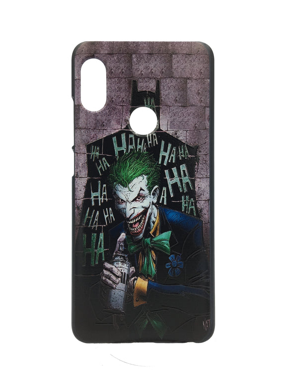 Xiaomi Redmi Note 5 Pro 3D UV Printed Justice League Batman Joker Hard Back Case Cover - YourDeal India