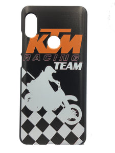 TDG Xiaomi Redmi Note 5 Pro 3D Texture KTM Printed Hard Back Case Cover - YourDeal India