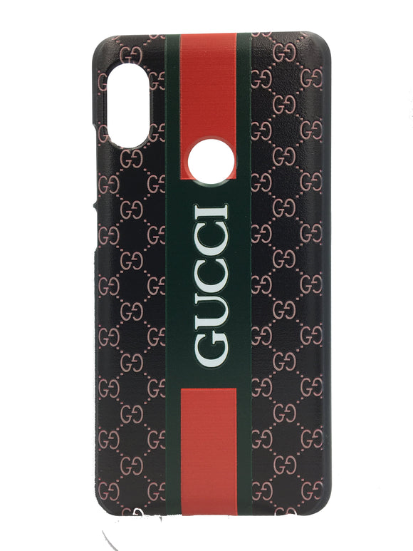 TDG Xiaomi Redmi 6 Pro 3D Texture Printed Designer Gucci Hard Back Case Cover - YourDeal India