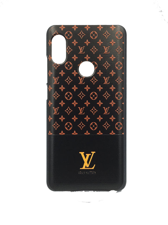 Xiaomi Redmi 6 Pro Printed Back Case Cover 3D Texture Designer Louis Vuitton - YourDeal India