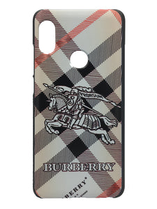 TDG Xiaomi Redmi 6 Pro 3D Texture Printed Designer Burberry Hard Back Case Cover - YourDeal India