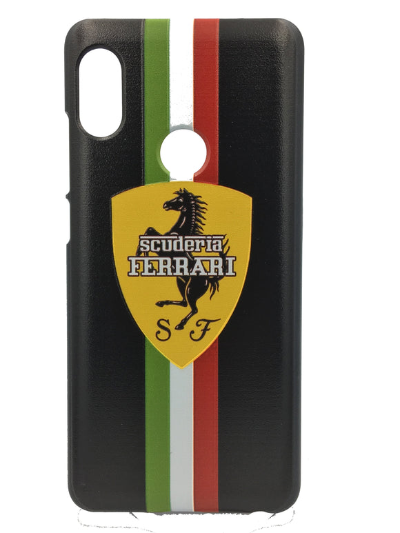 TDG Xiaomi Redmi 6 Pro 3D UV Printed Luxury Car Ferrari Hard Back Case Cover - YourDeal India
