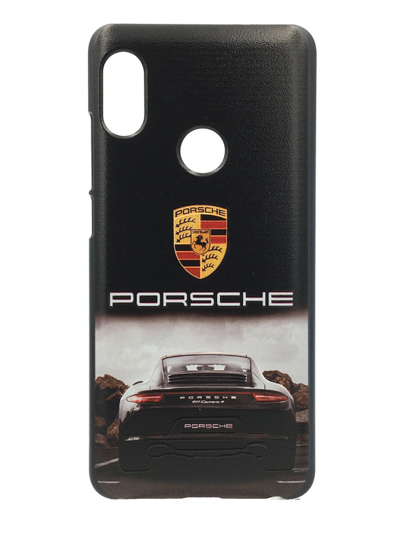 TDG Xiaomi Redmi 6 Pro 3D UV Printed Luxury Car Porsche Hard Back Case Cover - YourDeal India