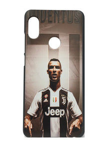 Xiaomi Redmi Note 5 Pro Printed Ronaldo Juventus Hard Back Case Cover - YourDeal India