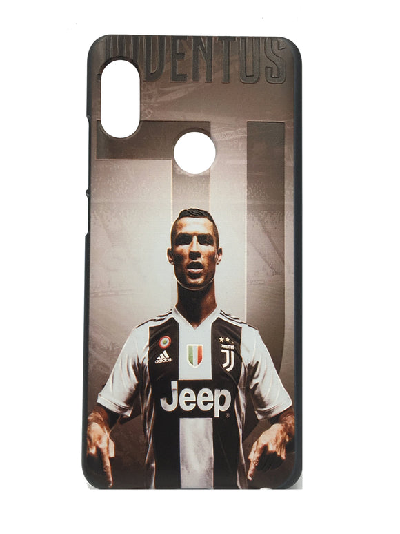 Xiaomi Redmi 6 Pro 3D UV Printed Ronaldo Juventus Hard Back Case Cover - YourDeal India