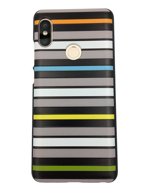Horizontal stripes back cover case for Xiaomi Redmi Note 5 pro - YourDeal India