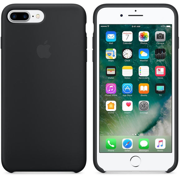 TDG OG SIlicone Case for Apple iPhone 7 Plus & iPhone 8 Plus Black Apple OG Silicon Back Case - YourDeal India