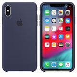 TDG OG Silicone Case for Apple iPhone X XS Dark Blue Apple OG Silicon Back Case - YourDeal India