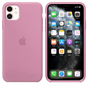 TDG iPhone 11 Silicone Case Pink - YourDeal India